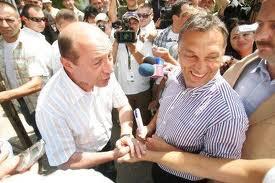 Viktor Orban si Traian Basescu