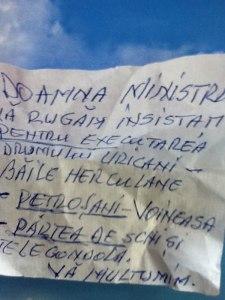 biletul lui Udrea