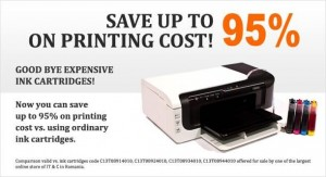 CISS - Save up to 95% on printing cost!