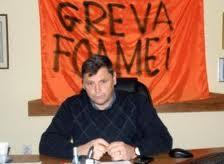 Florin Cazacu - primar Brad - greva foamei