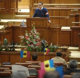 Victor Ponta - motiune de cenzura
