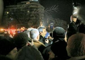 Dan Diaconescu - PPDD - vrea sa confiste miscarea de protest din Piata Universitatii