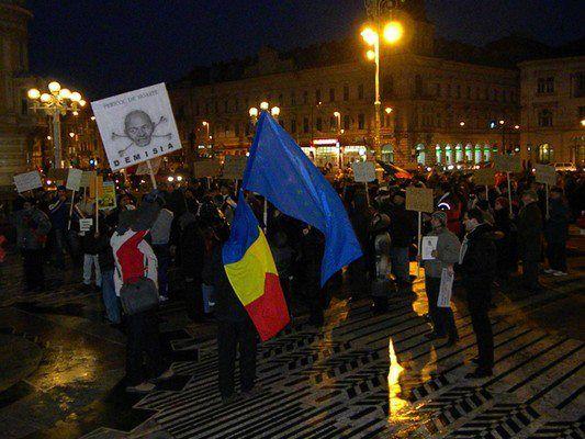 Arad proteste 19 februarie