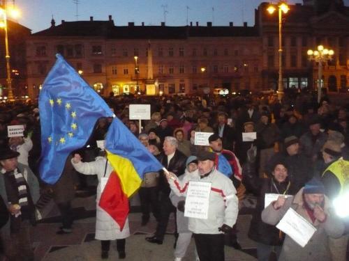 Arad proteste