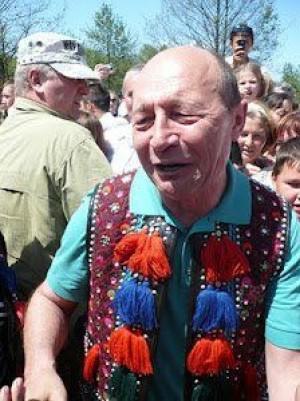 Basescu Traian presedintele Romaniei