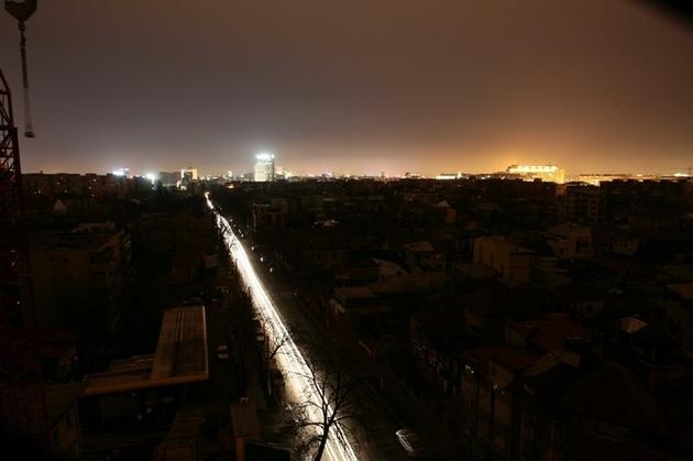 foto gandul - pana de curent in Bucuresti