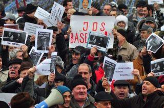 Piata Universitatii - proteste Bucuresti