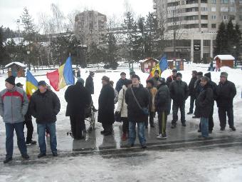 Resita proteste duminica 19 februarie 2012