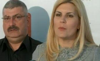 Silviu Prigoana candidatul PDL la Primaria Capitalei si Elena Udrea