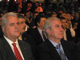 Adrian Nastase si Calin Popescu Tariceanu