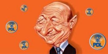 Basescu caricatura