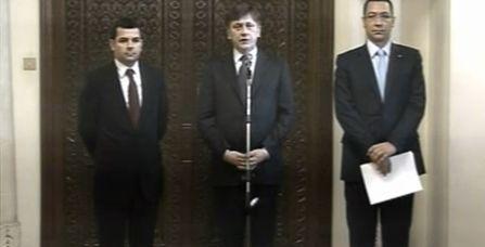 Ponta Antonescu si Constantin liderii USL