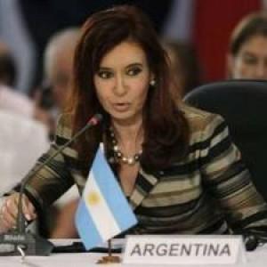 presedintele Argentinei Cristina Fernandez Kirchner