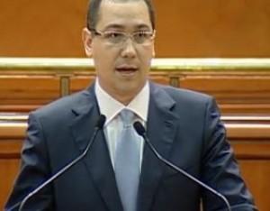 Victor Ponta prim-ministru al Romaniei