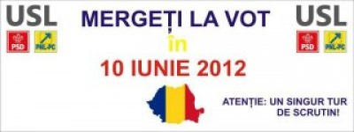 alegeri locale 10 iunie - votati usl
