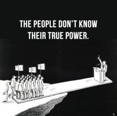 oamenii nu stiu adevarata lor putere