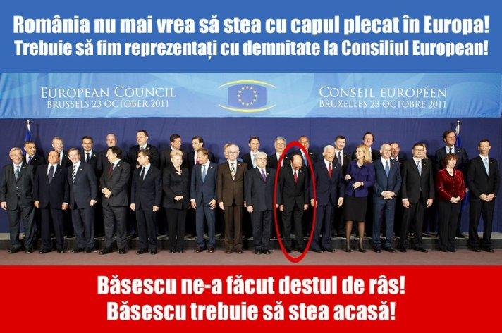 Romania nu mai vrea sa stea cu capul plecat
