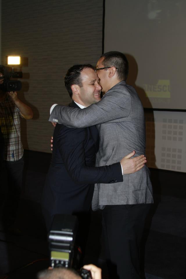 Victor Ponta si Robert Negoita