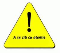 Atentie!!!!