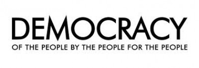 Democracy of the people by the people for the people