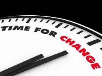 este timpul pentru o schimbare