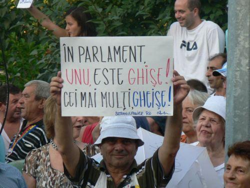 In Parlament unul este Ghise