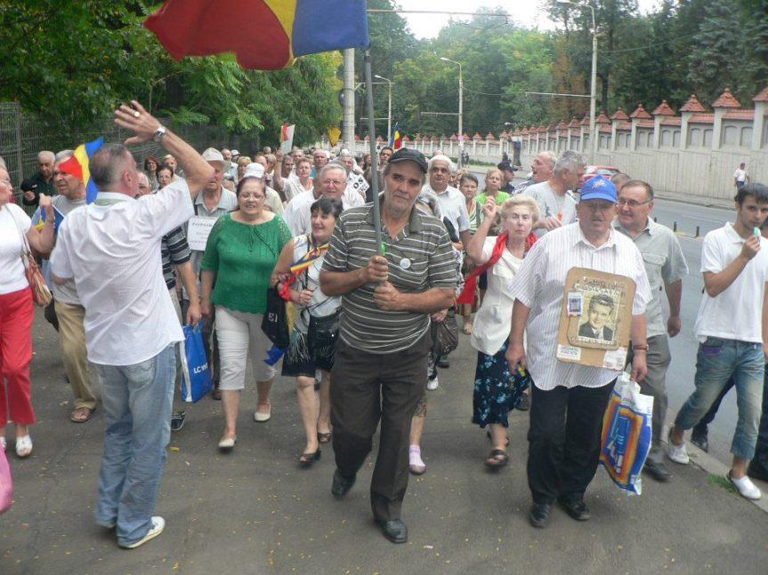 plimbare la Cotroceni cu tricolorul 3