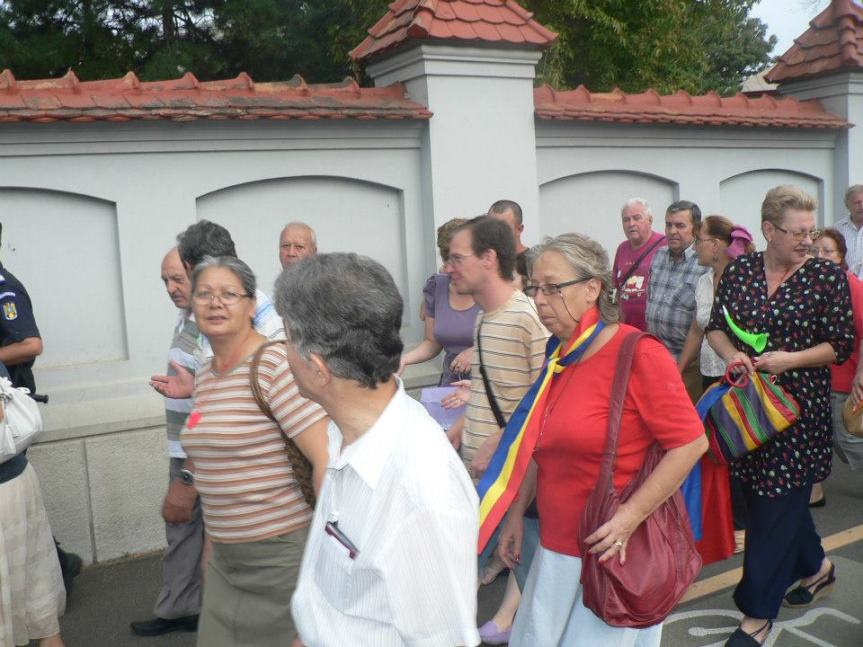 plimbare la Cotroceni cu tricolorul 5