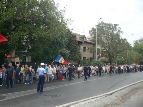 plimbarea la Cotroceni 15 septembrie 2012