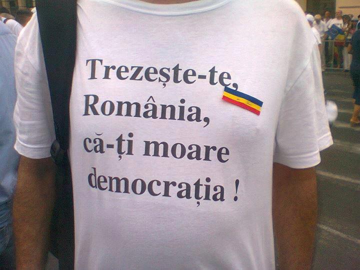Romania trezeste-te ca iti moare democratia!