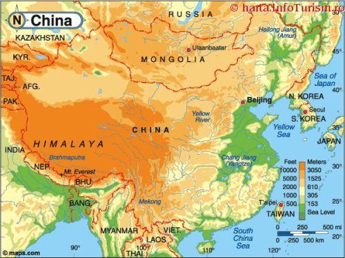 harta China