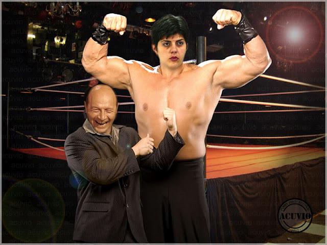 Laura Codruta Kovesi si Traian Basescu