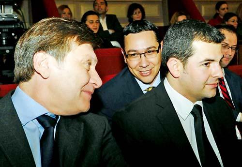 Crin Antonescu si Daniel Constantin