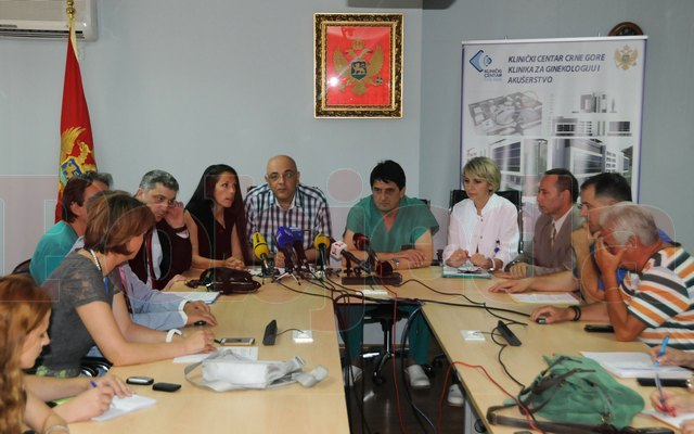 Raed Arafat conferinta de presa in Muntenegru