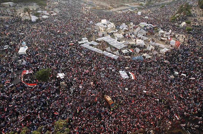 Piata Tahrir Egipt