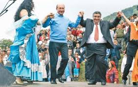 Basescu si Cioaba