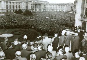 discursul din 21 august 1968 Nicolae Ceausscu
