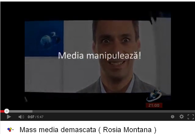 Mass media manipuleaza