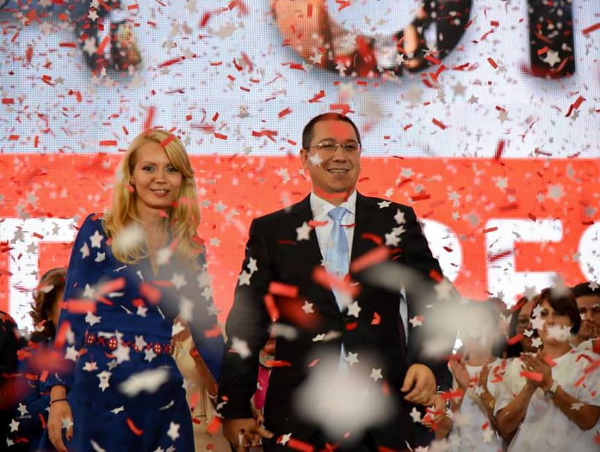 Victor Ponta evenimentul de lansare a candidatului Alianţei Electorale PSD-UNPR-PC