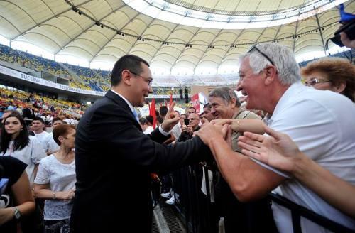 Victor Ponta lansare