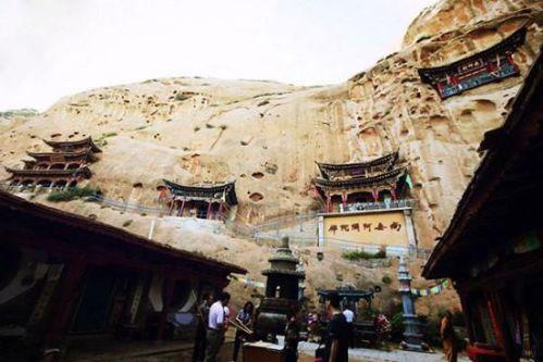 Mati Temple Grotto,Gansu