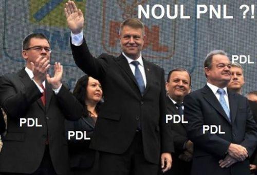 sustinatorii lui Johannis noul PNL fostii PDL-isti